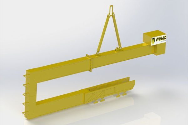 production of container loading apparatus