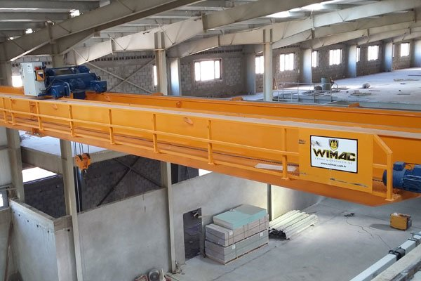 production of double girder overhead crane turkey