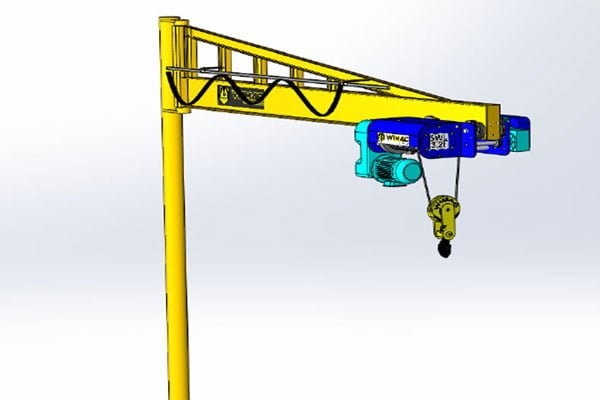 production of jib crane Turkey
