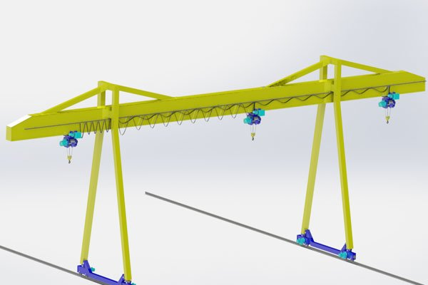 single girder gantry crane models