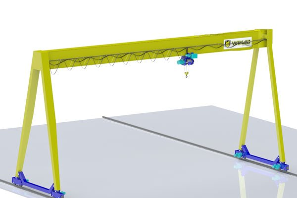 single girder gantry crane pricing