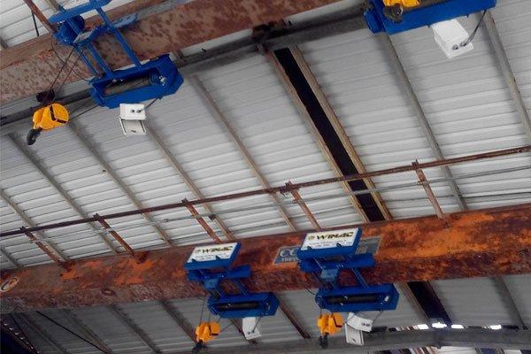 production-of-monorail-hoist-crane-turkey
