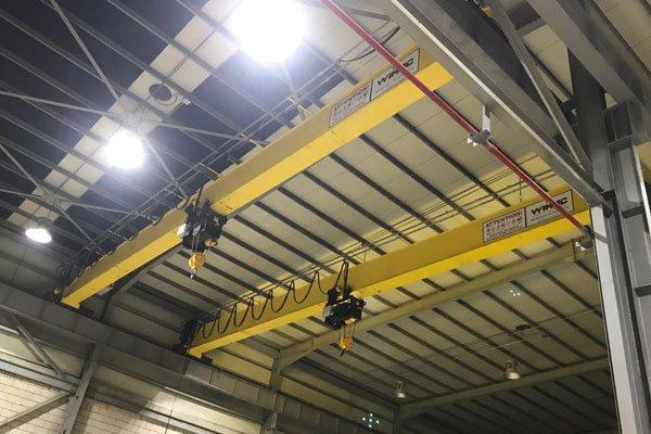 production-of-single-girder-monorail-crane-turkey